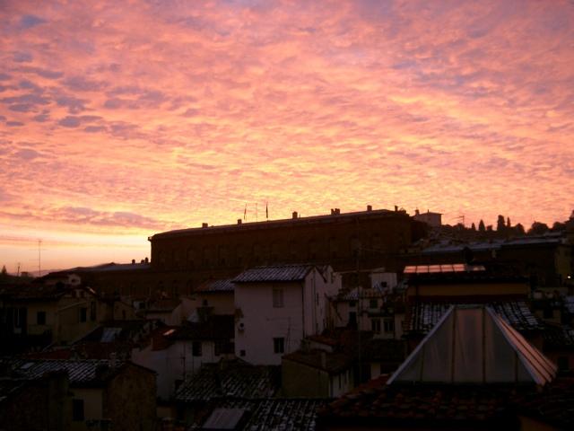 フィレンツェの空